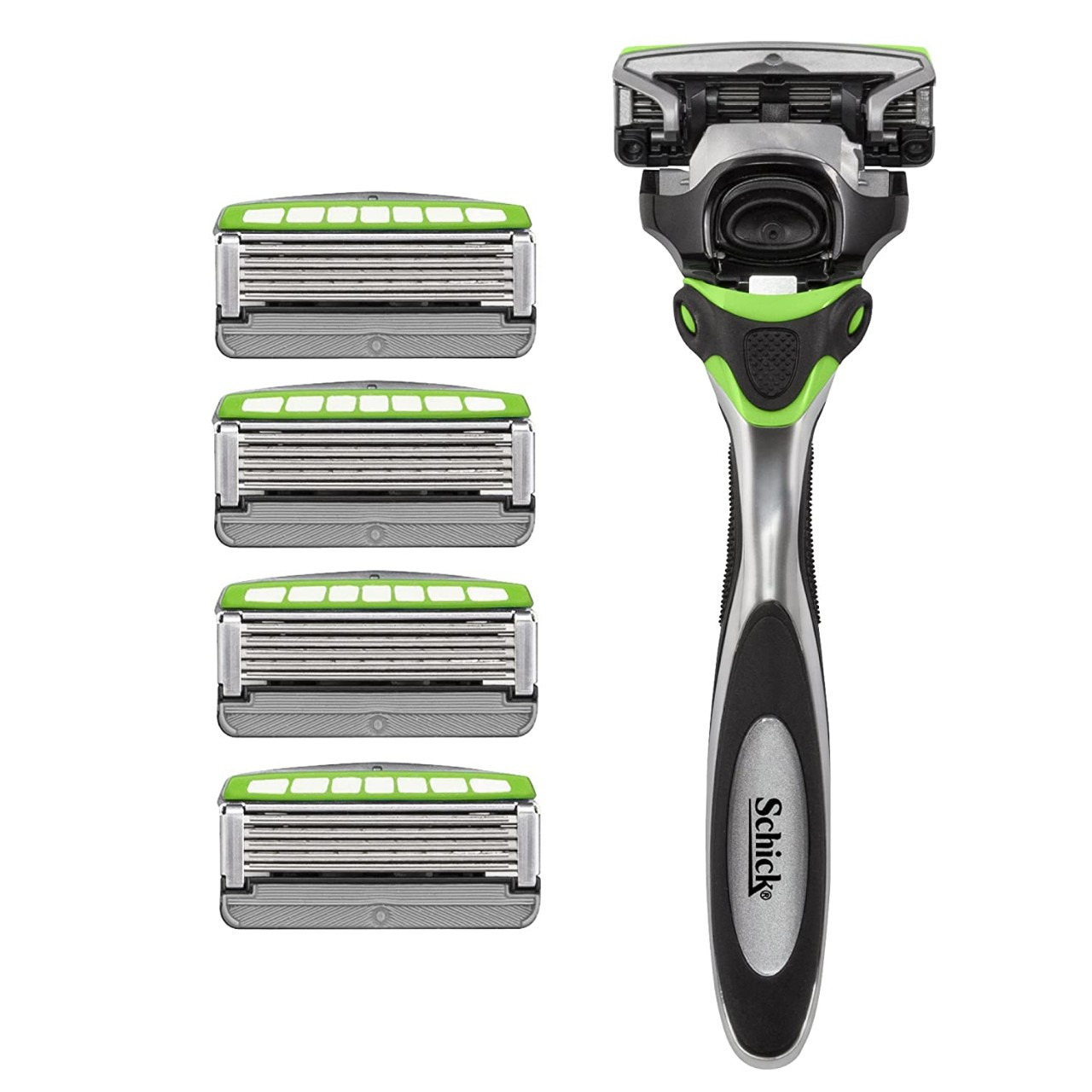 Schick Hydro Sense Sensitive Razors for Men With Skin Guards and Shock Absorbent Technology, 1 Razor