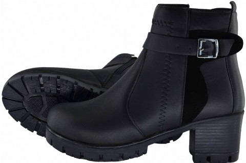 Boot shoes for women: the best black leather winter boots for women