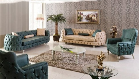 Chesterfield Sofa Sets Modern Luxury