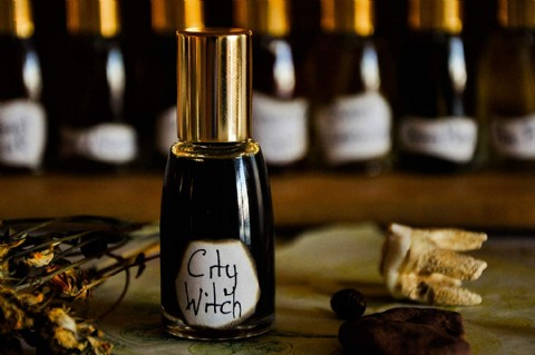 City Witch Natural Perfume 10 ml Made to Order, Halloween Gift