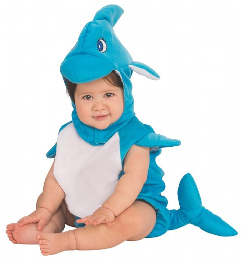 Dolphin Baby Costume Girls Gothic Enchantress Costume