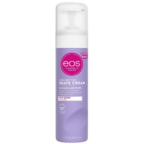 eos Ultra Moisturizing Shave Cream - Lavendar | Provides 24-Hours of Skin-Softening Moisture | Shave