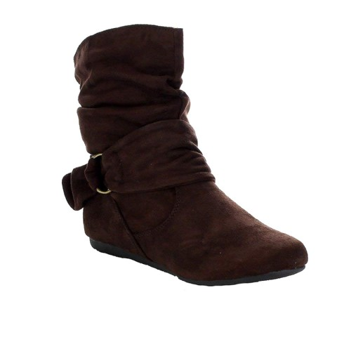 flat heel boots for women