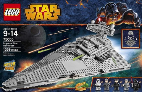 LEGO Star Wars Toys Imperial Star Destroyer Building Toy
