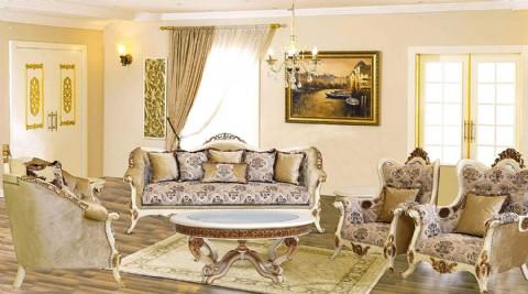 Luxury Clic Sofa Set European