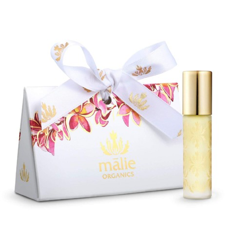 Malie Organics Roll on Perfume Oil - Plumeria Organic Hawaiian fragrances