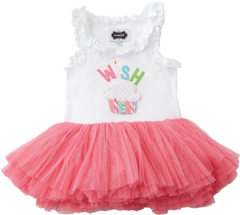 Mud Pie Baby Girls' Toddler Birthday Tutu Dress