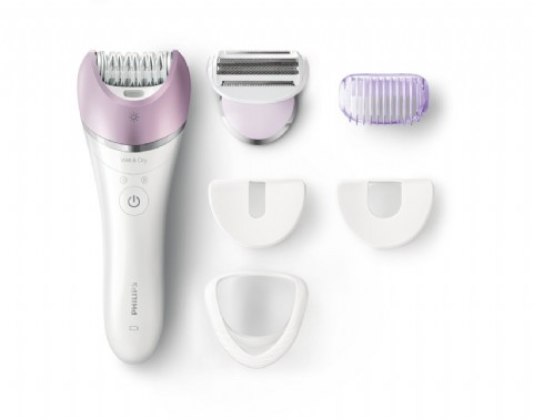 Philips Satinelle Advanced Epilator, Electric Hair Removal, Cordless Wet & Dry Use